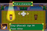 Mario Tennis: Power Tour Game Boy Advance Both characters have different strengths