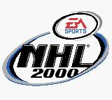 NHL 2000 Game Boy Color Logo shown in intro sequence