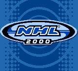 NHL 2000 Game Boy Color Title screen