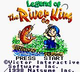 Legend of the River King GB Game Boy Color Title Screen