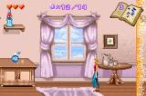 Sabrina, the Teenage Witch: Potion Commotion Game Boy Advance Chased by wall of magic