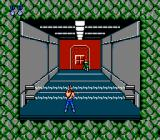 Contra NES Next area: you can't proceed until you've cleared the room of all its deadly weapons