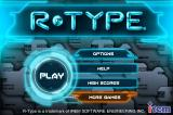 R-Type iPhone Main title + options.