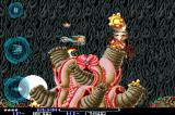 R-Type iPhone Level 2 boss (using left handed control scheme).