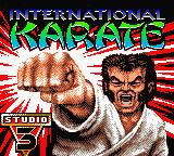 International Karate 2000 Game Boy Color Splash shown in intro sequence