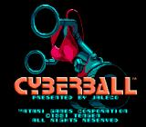 Cyberball NES Title