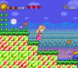 Miracle Girls: Tomomi to Mikage no Miracle World Adventure SNES Mikage isn't quite hero-material.