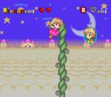 Miracle Girls: Tomomi to Mikage no Miracle World Adventure SNES Air vents in stage 2 can send you soaring.