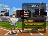 Homerun Battle 3D Android End game result (arcade mode)