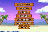Snood 2: On Vacation Game Boy Advance Available game modes