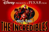 The Incredibles Game Boy Advance Title screen
