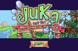 Juka and the Monophonic Menace Game Boy Advance Title screen