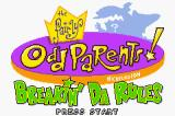 The Fairly OddParents!: Breakin' da Rules Game Boy Advance Title screen