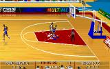 "Multi Sports Windows ""PC Basket 4.5"": Basketball simulator (320x200 graphic mode)"