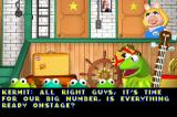 The Muppets: On with the Show Game Boy Advance Intro to the first mini game