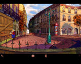Broken Sword: Shadow of the Templars - The Director's Cut Windows Nico visits the scene of the bombing...