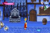 Disney's Cinderella: Magical Dreams Game Boy Advance Fleeing from the guards