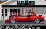 Test Drive Atari ST Stopped for some gas...
