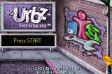 The Urbz: Sims in the City Game Boy Advance Title Screen
