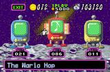 Warioland 4 Game Boy Advance Mini game shop, where you play 1 of 3 mini games to earn more coins