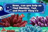 Disney•Pixar Finding Nemo Game Boy Advance The science teacher wants Nemo to find some of his class mates.