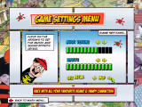 Beanotown Racing Windows Game settings. Controls are not configurable within the game. There's a separate program for that.