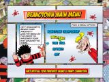 Beanotown Racing Windows Main menu