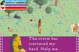 Spirit: Stallion of the Cimarron Game Boy Advance Spirit asks for help