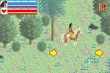 Spirit: Stallion of the Cimarron Game Boy Advance Riding the horse