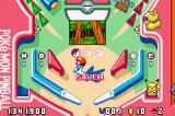Pokémon Pinball: Ruby & Sapphire Game Boy Advance Playing on the Ruby level