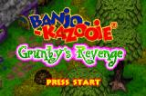 Banjo-Kazooie: Grunty's Revenge Game Boy Advance Title screen