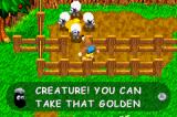 Banjo-Kazooie: Grunty's Revenge Game Boy Advance Freeing some sheep