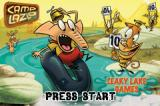 Camp Lazlo: Leaky Lake Games Game Boy Advance Title Screen