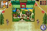 Camp Lazlo: Leaky Lake Games Game Boy Advance In game Map, showing you where  you are
