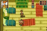 Camp Lazlo: Leaky Lake Games Game Boy Advance Inside the cabin with Raj