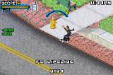Tony Hawk's Underground 2 Game Boy Advance Trying to skate on an edge