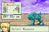 Zoids: Legacy Game Boy Advance Already got several attacks to choose from