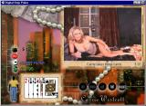 Digital Strip Poker featuring Carrie Westcott Windows Carrie takes three cards without skirt (Skirt round 2)