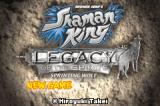 Shaman King: Legacy of the Spirits - Sprinting Wolf Game Boy Advance Title screen