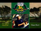 Golf Magazine presents 36 Great Holes starring Fred Couples SEGA 32X Title Screen