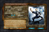 Achaea Browser Race selection page.