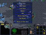 StarCraft Macintosh In game menu