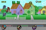 The Powerpuff Girls: Mojo Jojo A-Go-Go Game Boy Advance Destroyed enemies leave jewels to collect.