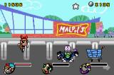 The Powerpuff Girls: Mojo Jojo A-Go-Go Game Boy Advance Mojo Jojo finds the shopping trolley more interesting than us?