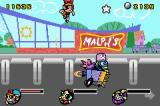 The Powerpuff Girls: Mojo Jojo A-Go-Go Game Boy Advance The first boss fight