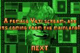 Urban Yeti! Game Boy Advance The first main task: get to the female Yeti