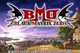Black/Matrix Zero Game Boy Advance Title screen