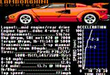 Test Drive Apple II The Lamborghini