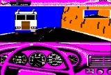 Test Drive Apple II Oncoming truck...