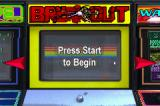 Centipede / Breakout / Warlords Game Boy Advance Breakout Title Screen